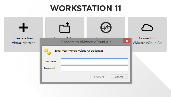 workstation 11 vcloud air