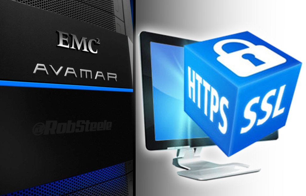 EMC Avamar SSL Cert