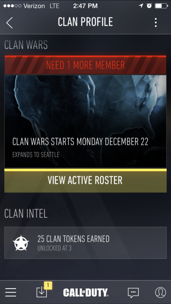 Clan Tokens - Call of Duty Advanced Warfare